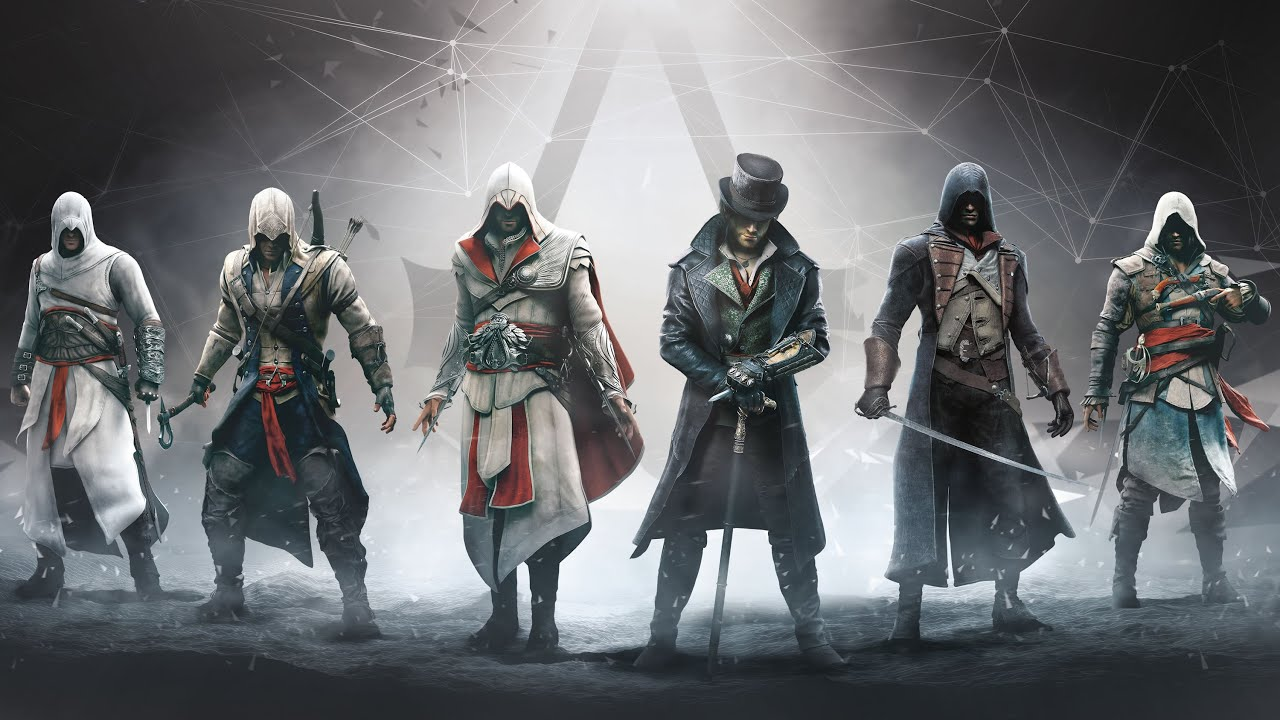 Assassin S Creed 6 Legendary Assassins Altair Ezio Connor