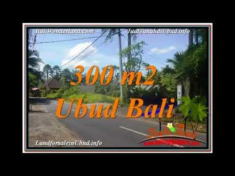 Magnificent Sentral / Ubud Center BALI 300 m2 LAND FOR SALE TJUB646