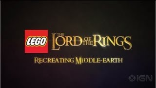 LEGO Lord of the Rings - Recreating Middle-Earth