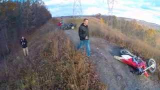 Viral Video UK: Drone Captures Dirt Bike V Quad Bike Crash!