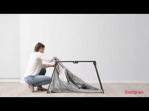 Baby Bjorn - How to remove and wash Light Travel Cot