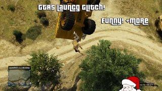GTA 5 - Dump/Tank Launch Glitch! Still Works! Funny!