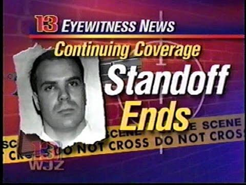 Joseph Palczysnki Hostage Standoff Ends - WJZ Channel 13 Baltimore, Maryland, 2000