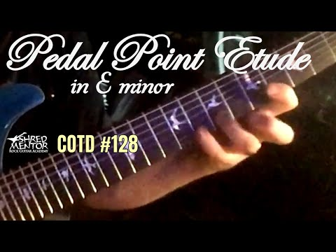 Pedal Point Etude in E minor | ShredMentor Challenge of the Day #128