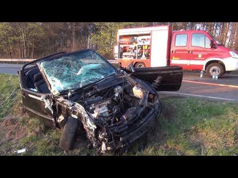 Schwerer Unfall B268