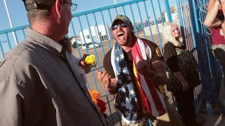"Video Protester tells War Vet that ""Don't Tread On Me Snake"" represents Satan download MP3, 3GP, MP4, WEBM, AVI, FLV November 2018"