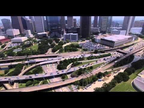Houston traffic on I-45