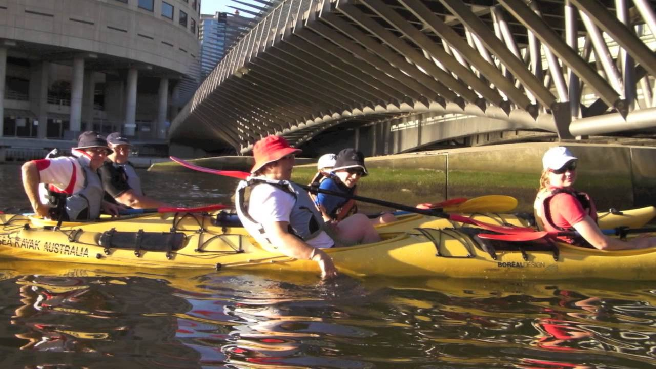 video Melbourne City Sights Kayak Tour
