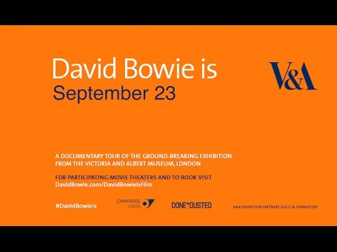 david bowie is in movie theaters across the us
