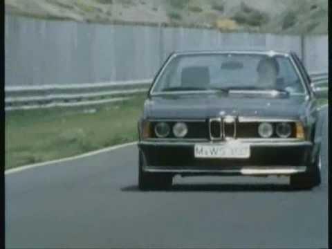 Historischer Werbefilm BMW 635 csi