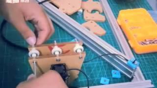 Eleks Maker Laser Engraving Machine assembly