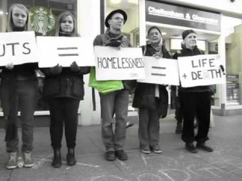 UK Uncut - Starbucks Protest