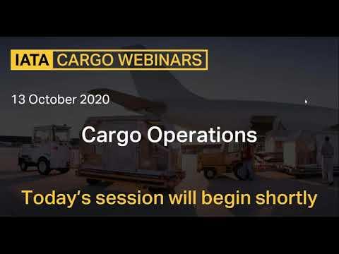 Cargo Operations Webinar