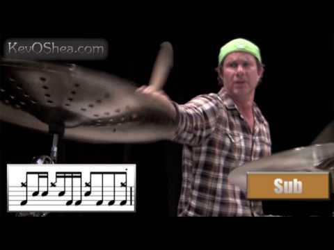 Chad Smith Cool Drum Beat | Drum Notation Lesson