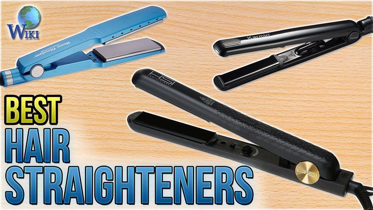 10 Best Hair Straighteners 2018