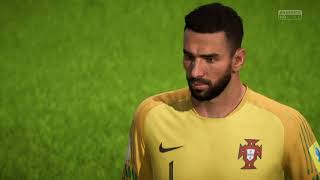 FIFA 18 World Cup Final Portugal - Spain