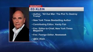 """Ed Klein Discusses His New Book """"All Out War"""", Antifa, and More"""