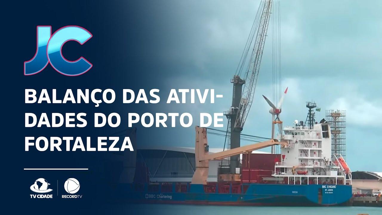 VÍDEO: Balanço das Atividades do Porto de Fortaleza na TV Cidade