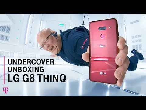 Undercover Unboxing: NEW LG G8 ThinQ with Des | T-Mobile