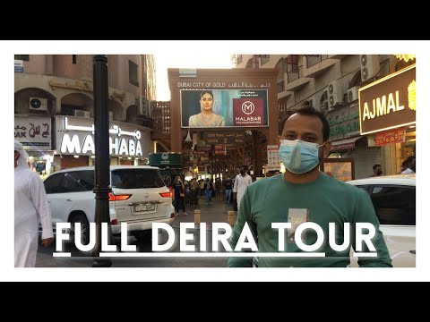 Full View of Deira Gold Souk | Perfume Market | World Guinness Book Record Surprise | Quality Life