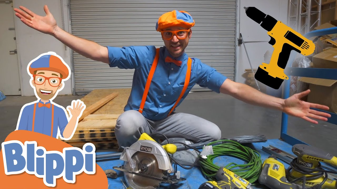 Blippi Learn about Tools! | Learning Tools For Kids | Educational Videos For Toddlers