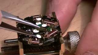 How to restore a Seiko 7T39: movement tear down - Part 1