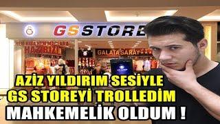 GALATASARAY STORE'U AZİZ YILDIRIM SESİYLE ARADIM !