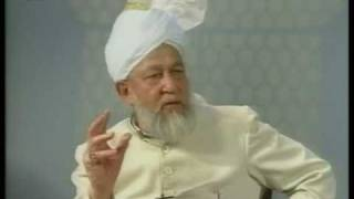 Liqa Ma'al Arab 19th September 1996 Question/Answer English/Arabic Islam Ahmadiyya
