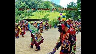 Baile de venado en Guatemala, los 24 sones bailados. Secoyou San Luis Petén.