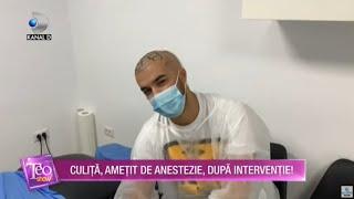Teo Show (20.10.2020) -  Culita Sterp, ametit de anestezie, dupa interventie! Cum se simte?
