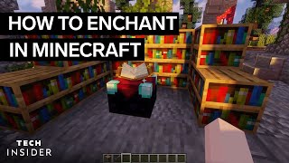 How To Enchant In Minecraft
