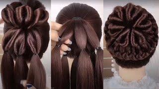 SIMPLE HAIRSTYLES FOR EVERYDAY Hair Tutorials Простые Прически на длинные волосы