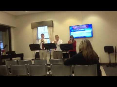 Dedham Middle School trumpet section #2