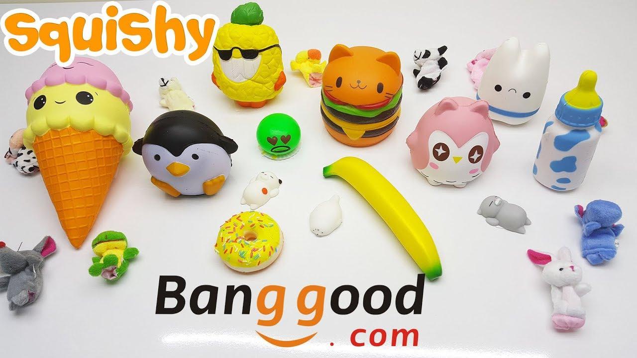 Banggood - Squishy Altlndan Ne clkarsa Slime Challenge - Eglenceli Video - YouTube