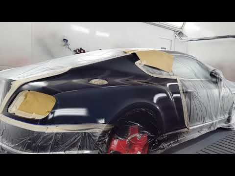 Painting a Bentley continental gt (standox)