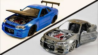 Restore and repair abandoned toy car rusty | Restoration super car and sport car old #4