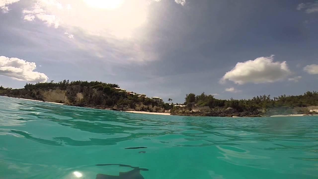 Bermuda Marley Beach Swimming Just Off S