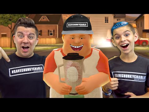 WE SAVED CHUNKY CHARLIE! Ice Scream the Horror Game