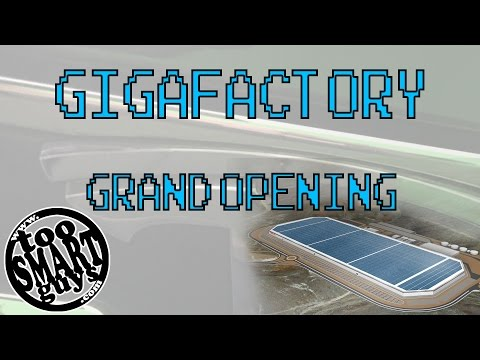 Tesla GigaFactory 1 Grand Opening and Tour Highlights