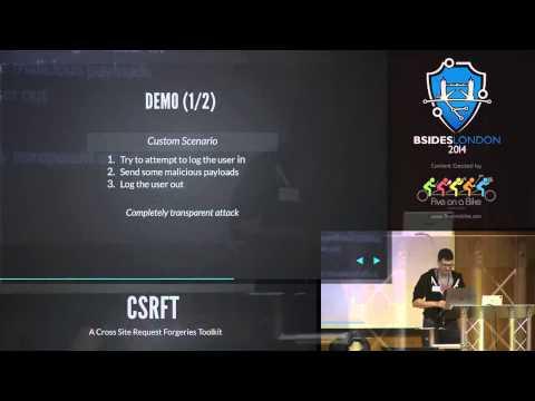 Paul Amar  CSRFT, A Toolkit for CSRF Vunerabilities