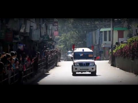 Narendra Modi | PRIME MINISTER OF INDIA | MOTORCADE | Aizawl, Mizoram