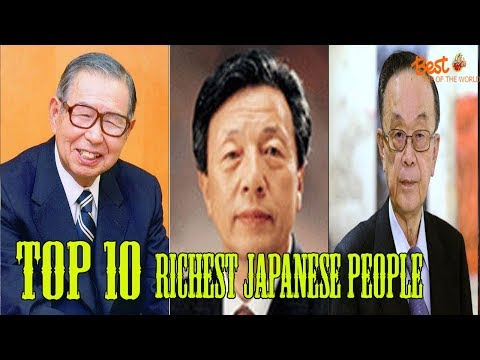 Top 10 Richest Japanese People