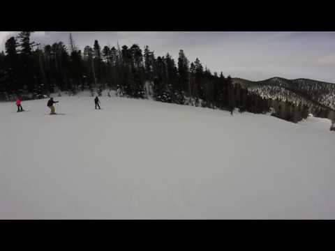 Chile Express and Backside Angel Fire Jan 2016