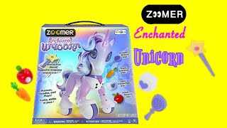 Zoomer Enchanted Unicorn review! - The twins toy channel