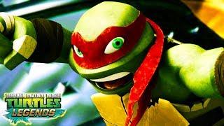 ЧЕРЕПАШКИ НИНДЗЯ новая серия по игре teenage mutant ninja turtles legends