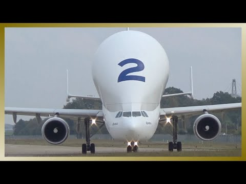 [AWESOME SOUND!!!] Airbus A300-600ST Beluga Takeoff @ Hamburg Airport