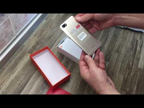 Обзор Xiaomi Redmi 6A из Rozetka