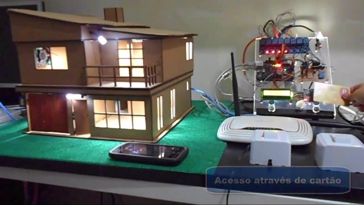 Automação residencial com arduino e android youtube