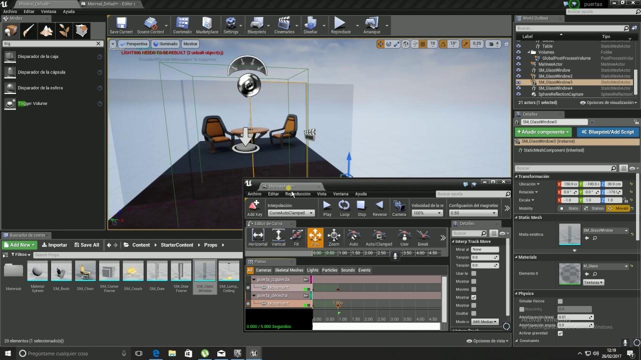 Tutorial unreal engine puertas youtube tutorial unreal engine puertas malvernweather Choice Image