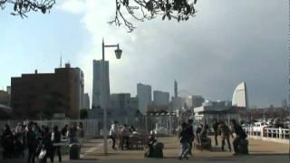 Japan Earthquake - March 11th 2011 - Yamashita Koen - Yokohama